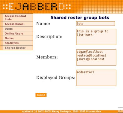 shared roster group bots